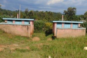 The Water Project: Boyani Primary School -  Girls Latrine Blocks