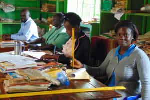 The Water Project: Gamalenga Primary School -  Teachers In Staffroom