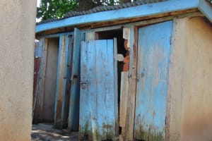 The Water Project: St. Kizito Kimarani Primary School -  Girls Latrines