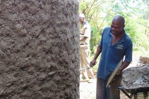 The Water Project: Gimariani Secondary School -  Artisan Enjoying His Work