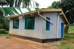 The Water Project: Kinu Friends Secondary School -  Girls Latrines