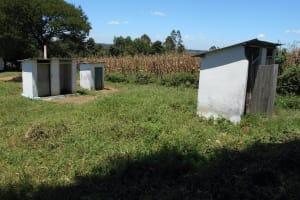The Water Project: Friends School Shivanga Secondary -  Girls Latrines