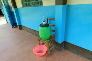 The Water Project: Friends School Vashele Secondary -  Handwashing Station