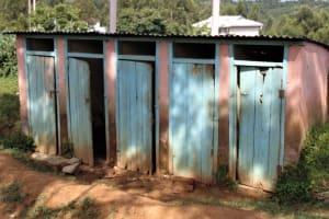 The Water Project: Boyani Primary School -  Boys Latrine Block