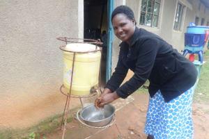 The Water Project: Friends School Mahira Primary -  Handwashing Point