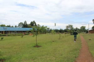 The Water Project: Sawawa Secondary School -  School Grounds