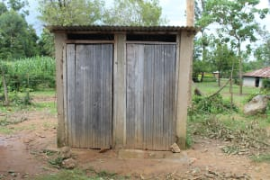 The Water Project: Mukoko Baptist Primary School -  Only Latrines For All Students