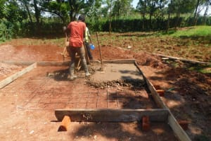 The Water Project: Friends School Mutaho Primary -  Latrien Construction