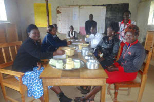 The Water Project: Friends School Mahira Primary -  School Staff Taking Lunch In The Staffroom