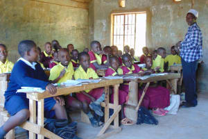 The Water Project: Givudemesi Primary School -  Students In Class