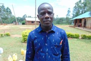 The Water Project: Jinjini Friends Primary School -  Deputy Head Teacher Mr Chole Maheli