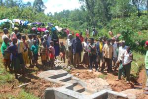 The Water Project: Shisere Community, Richard Okanga Spring -  Site Management Training