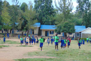 The Water Project: Boyani Primary School -  Students On Break
