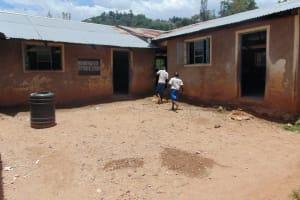 The Water Project: Lwombei Primary School -  Plastic Water Storage Drum