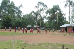 The Water Project: Mukoko Baptist Primary School -  Pupils Play On The Playground