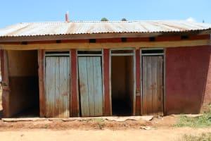The Water Project: Givudemesi Primary School -  School Latrines