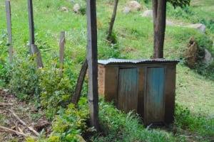 The Water Project: St. Kizito Kimarani Primary School -  Teachers Toilets