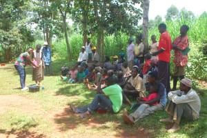 The Water Project: Shisere Community, Richard Okanga Spring -  Hadnwashing Session