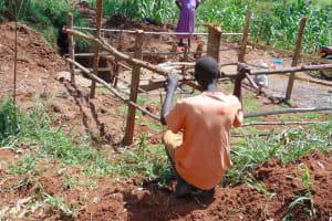The Water Project: Ebutindi Community, Tondolo Spring -  Fencing
