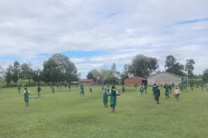 The Water Project: Friends School Mahira Primary -  Pupils On The Playground