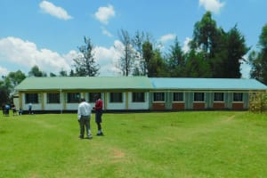 The Water Project: Friends School Vashele Secondary -  Classrooms
