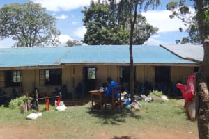 The Water Project: St. Michael Mukongolo Primary School -  Indoor And Outdoor Classrooms