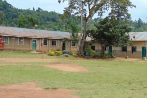 The Water Project: Kinu Friends Secondary School -  Classrooms