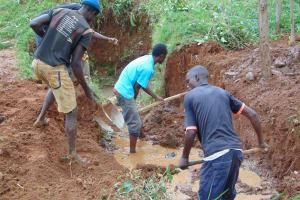 The Water Project: Ebutindi Community, Tondolo Spring -  Site Excavation