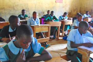 The Water Project: St. Kizito Kimarani Primary School -  Students In Class