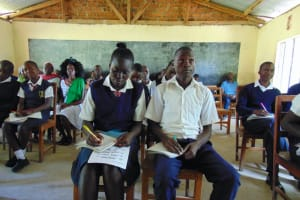 The Water Project: Gimariani Secondary School -  Attentive Training Participants