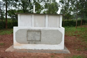 The Water Project: Friends School Mutaho Primary -  Completed Vip Latrines