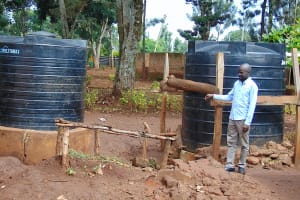 The Water Project: Gamalenga Primary School -  Water Tanks