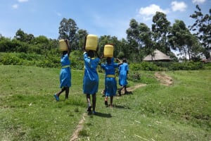 The Water Project: St. Michael Mukongolo Primary School -  Time To Head Back To School