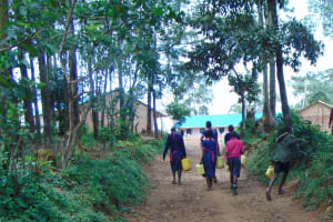 The Water Project: Jinjini Friends Primary School -  Almost Back At School