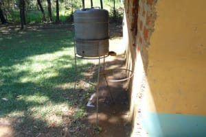 The Water Project: Friends School Shivanga Secondary -  Nonfunctional Handwashing Station