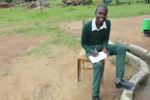 The Water Project: Sawawa Secondary School -  Student Moses