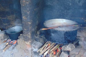 The Water Project: Givudemesi Primary School -  Food Cooking