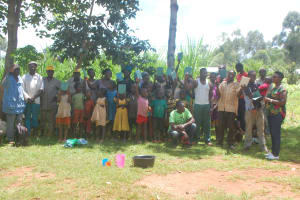 The Water Project: Shisere Community, Richard Okanga Spring -  Training Complete