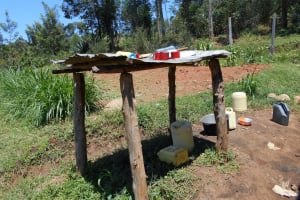 The Water Project: Givudemesi Primary School -  Dishrack