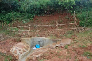 The Water Project: Shisere Community, Richard Okanga Spring -  Completed Richard Okanga Spring