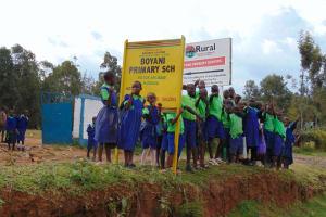 The Water Project: Boyani Primary School -  School Signpost