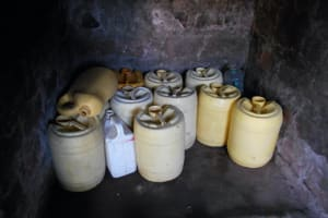 The Water Project: Givudemesi Primary School -  Water Storage Containers