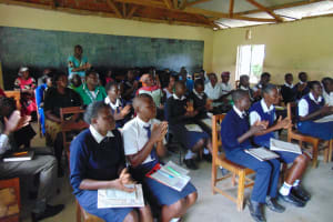 The Water Project: Gimariani Secondary School -  Handwashing Practice