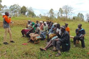 The Water Project: Bumavi Community, Joseph Njajula Spring -  Dental Hygiene Session