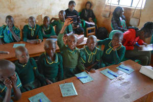 The Water Project: Friends School Mutaho Primary -  The Training Session Was Full Of Life And Reactions