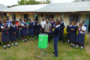 The Water Project: Gimariani Secondary School -  Now A Student Leads