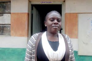 The Water Project: Friends School Mahira Primary -  Deputy Head Teacher Madam Margaret Mikisi