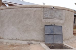 The Water Project: Gimariani Secondary School -  Completed Rain Tank