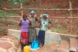 The Water Project: Shisere Community, Richard Okanga Spring -  Celebrating The Spring