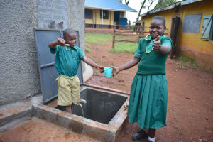 The Water Project: Friends School Mutaho Primary -  Plenty Of Water For Everyone